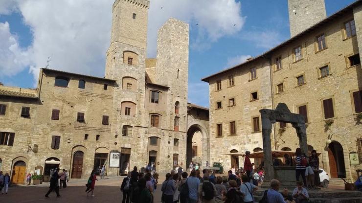 San Gimianano, Toscana 2019