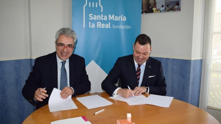 Firma convenio FUNDOS, auditorio Valladolid 2020
