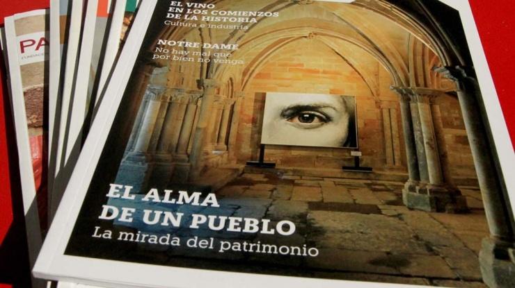 Vista de la portada del número 68 de la revista Patrimonio